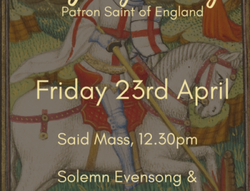 St George's Day – Friday 23 April